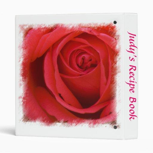 Carpeta color de rosa 3 de la receta