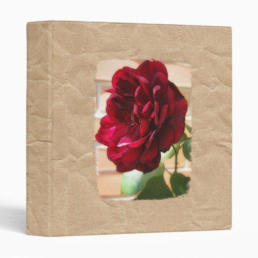 Carpeta color de rosa de la textura del papel de l