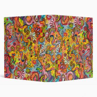 Carpeta colorida