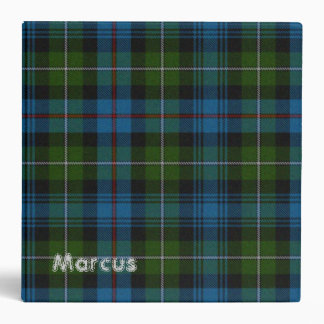 Carpeta colorida de la tela escocesa de MacKenzie
