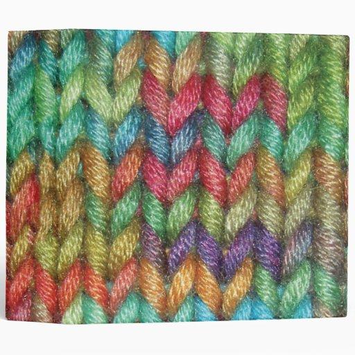 Carpeta colorida grande para el calcetero en su vi