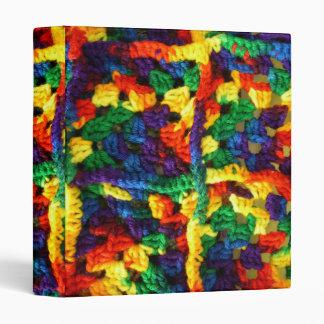 Carpeta colorida para el Crocheter en su vida
