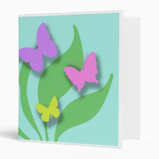Carpeta completa de las mariposas de papel