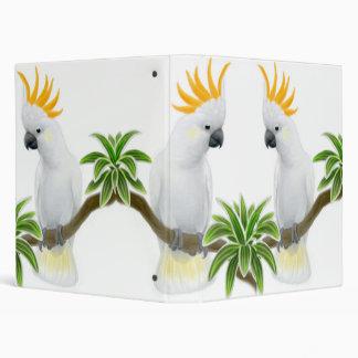 Carpeta con cresta cítrica de Avery de los Cockato