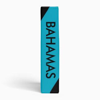 Carpeta con la bandera de Bahamas