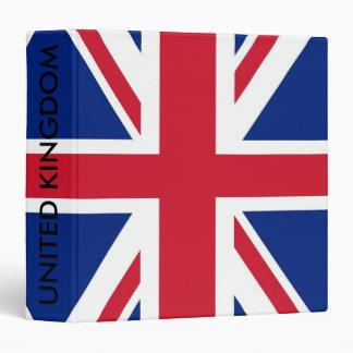 Carpeta con la bandera de Reino Unido