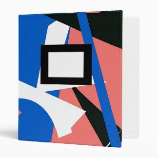 Carpeta con la placa Matisse-inspirada del diseño