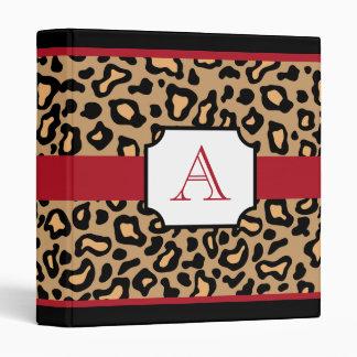 Carpeta con monograma del libro de recuerdos del e