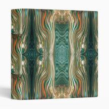 Carpeta cristalina cósmica del marco carpeta 2,5 cm