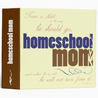 Carpeta cristiana del homeschool: Mamá de