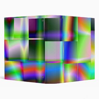 Carpeta cubicada del color