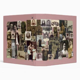 Carpeta de A (vintage) por completo de mujeres