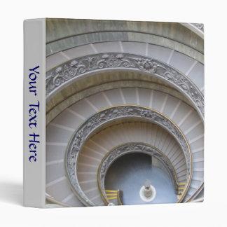 Carpeta de anillo 3--Escalera espiral