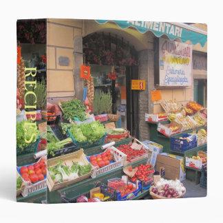 Carpeta de anillo 3--Mercado de la comida