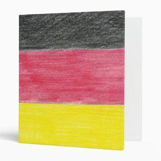Carpeta de anillo alemana de la bandera 3