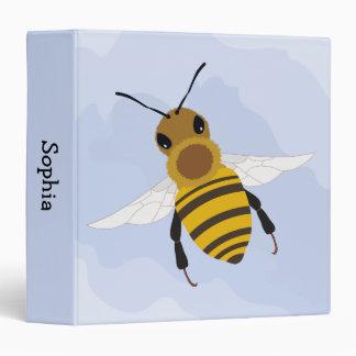 Carpeta de anillo de la abeja
