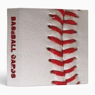 Carpeta de anillo de las tarjetas de béisbol 3