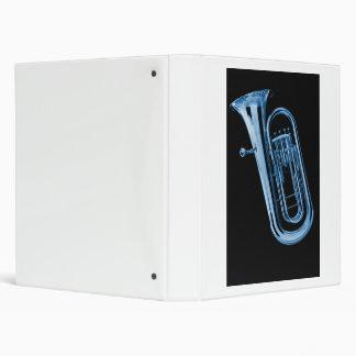 Carpeta de anillo del cuaderno 3 de la tuba para e