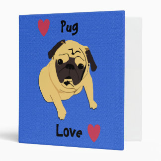 Carpeta de anillo del perro 3 del amor del barro