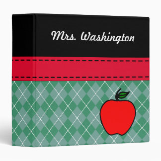 Carpeta de Apple del profesor personalizado