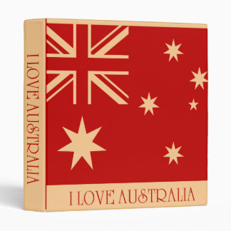 Carpeta de Australia del corazón I - vintage