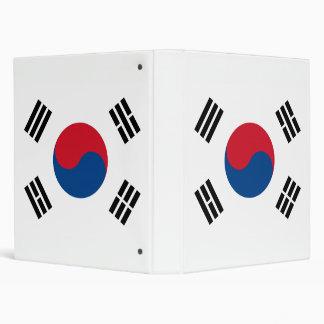 Carpeta de Avery de la bandera de la Corea del Sur