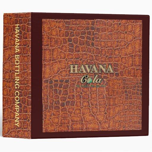 Carpeta de Avery de la COLA de LA HABANA