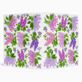 Carpeta de Avery de la elegancia de la lila