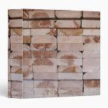 Carpeta de Avery de la madera de construcción