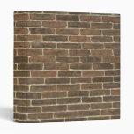 Carpeta de Avery de la pared de ladrillo
