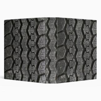 Carpeta de Avery de la pisada del neumático