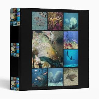 Carpeta de Avery de las criaturas del mar