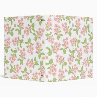 Carpeta de Avery de las flores de cerezo