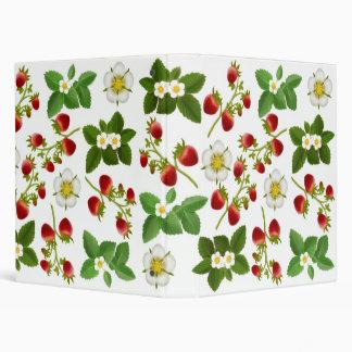 Carpeta de Avery de las fresas