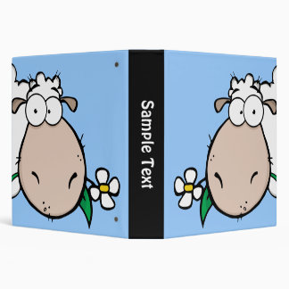 Carpeta de Avery de las ovejas de la mirada furtiv