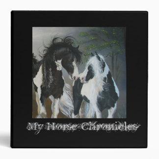Carpeta de Avery de los amantes del caballo