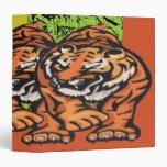 Carpeta de Avery de los tigres