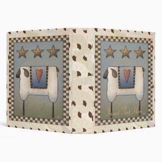 Carpeta de Avery de tres ovejas de la estrella