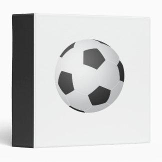 Carpeta de Avery del balón de fútbol
