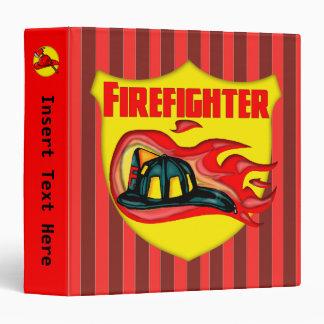 Carpeta de Avery del bombero