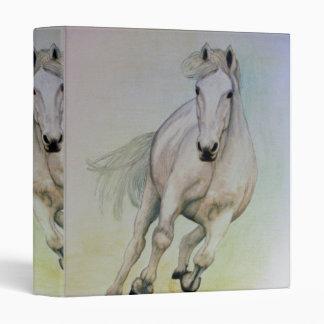 Carpeta de Avery del caballo blanco