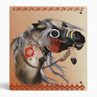 Carpeta de Avery del caballo de guerra