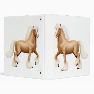 Carpeta de Avery del caballo de proyecto de la