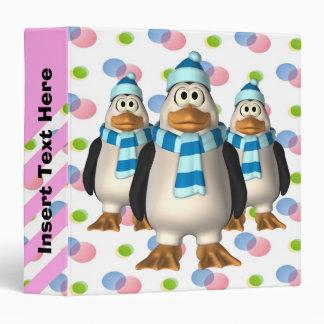 Carpeta de Avery del desfile del pingüino