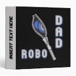 Carpeta de Avery del papá del robot