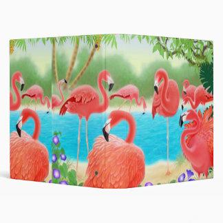 Carpeta de Avery del paraíso del flamenco