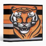 Carpeta de Avery del tigre
