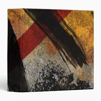 Carpeta de Avery, la cicatriz, pintura abstracta d