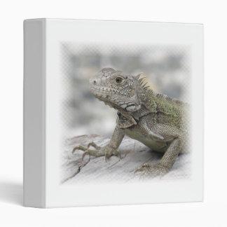 Carpeta de cuernos de la iguana