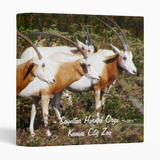 Carpeta de cuernos del Oryx del Scimitar